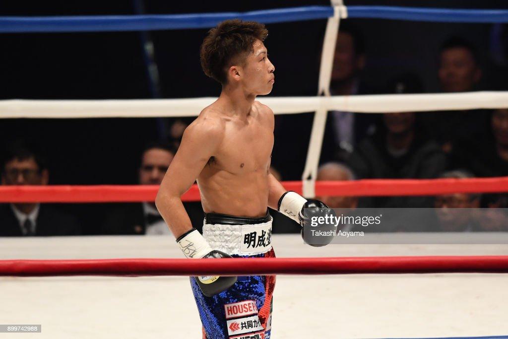 Naoya Inoue v Yoan Boyeaux - WBO Super Flyweight Title Bout : News Photo