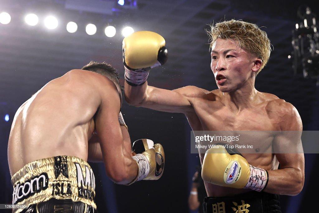 Naoya Inoue v Jason Moloney : ニュース写真