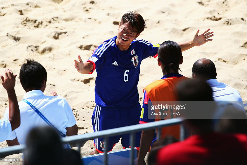 Japan v Senegal: Group A - FIFA Beach Soccer World Cup : News Photo