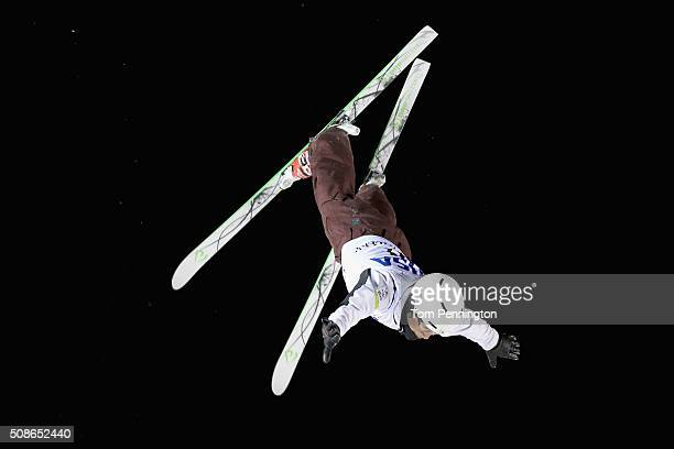 Naoya Tabara of Japan jumps during the final round in the FIS Freestyle Skiing Aerial World Cup at the Visa Freestyle International at Deer Valley on...