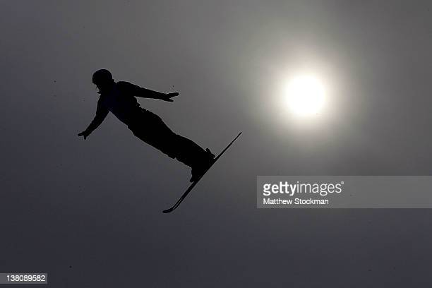 Naoya Tabara of Japan trains in preparation for the Visa Freestyle International FIS Freestyle World Cup at Deer Valley on February 1 2012 in Park...