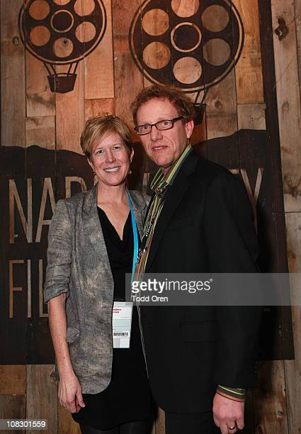 Napa Valley Film Festival directors Brenda Lhormer and Marc Lhormer attend the Napa Valley Film Festival Launch Celebration at the Sundance House...