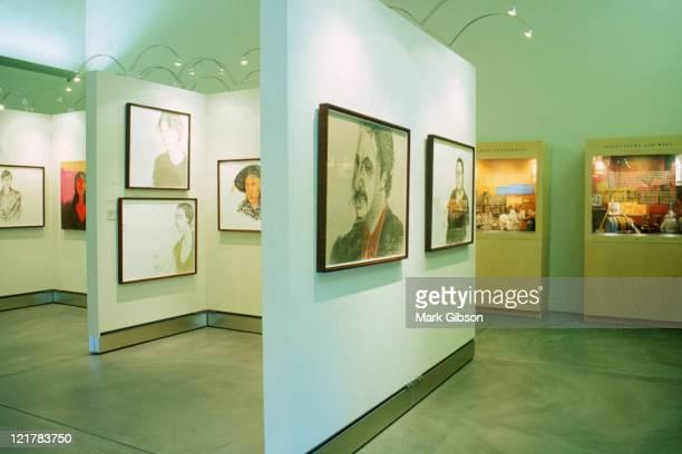 napa valley museum - kunstmuseum stockfoto's en -beelden