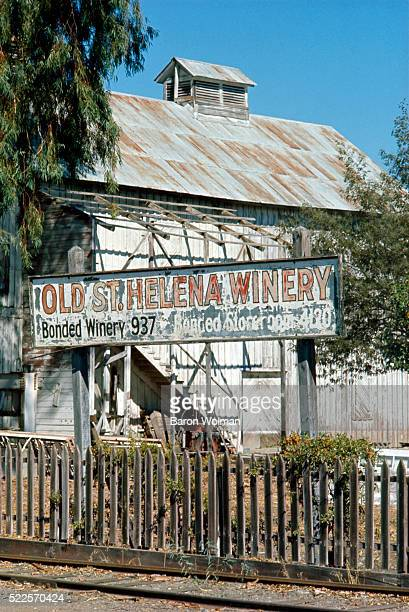 Napa Valley's Old Winery, Oakville, CA, United States, circa 1970s.