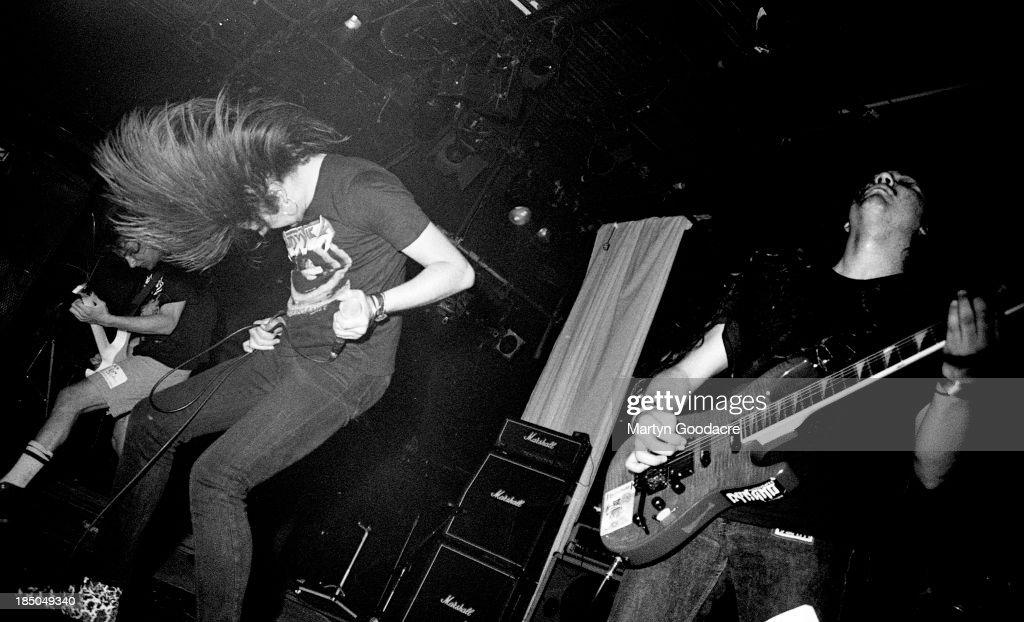 Napalm Death Live 1990 ICA London : News Photo
