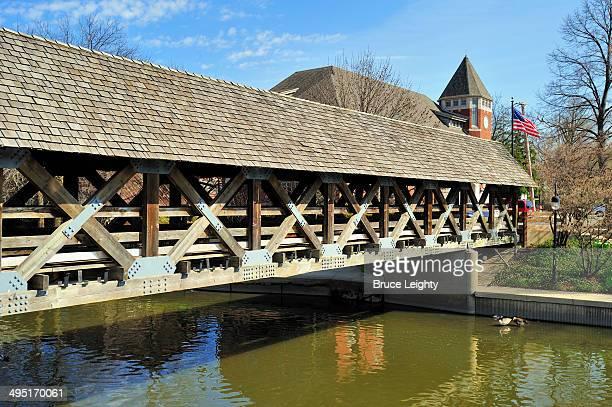 Naperville Riverwalk Covered Bridge