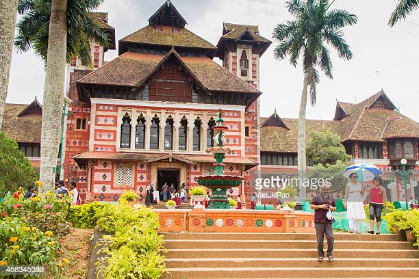 napier art museum, kerala - thiruvananthapuram stock photos and pictures