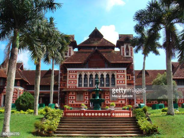 napier museum - thiruvananthapuram stock photos and pictures