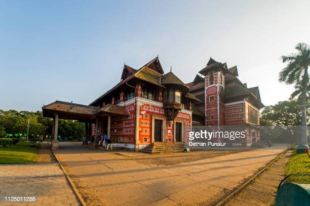 napier museum, thiruvananthapuram - thiruvananthapuram stock photos and pictures
