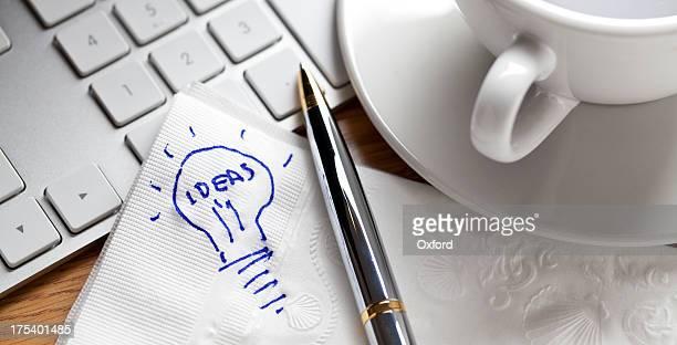 Serviette Drawing: Ideen.