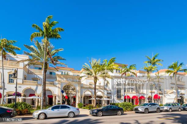 naples, 5th ave south - florida (us) - naples florida stock pictures, royalty-free photos & images