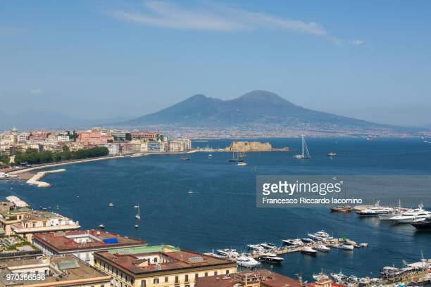 Naples, cityscape from Posillipo