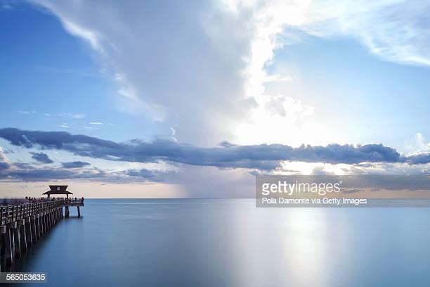 Naples Pier panoramic view, La Florida, USA