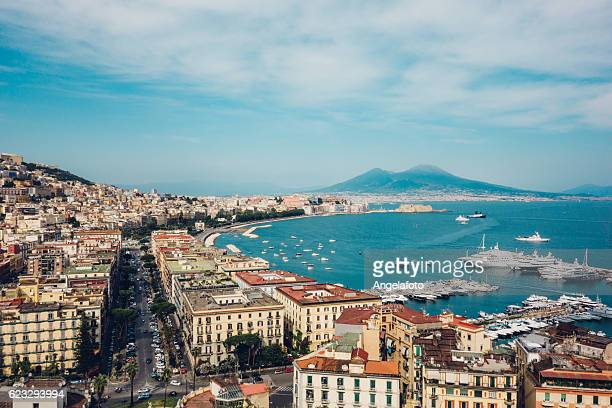 naples view, italy - napoli stock pictures, royalty-free photos & images