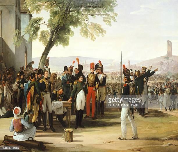 Napoleon after the Battle of Wagram, by Francesco Hayez .