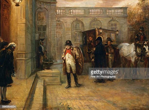 Napoleon After Waterloo by Robert Alexander Hillingford