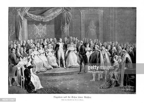 'Napoleon and the first of his empires' c18041814 The first French Empire of Napoleon I lasted from 1804 to 1814