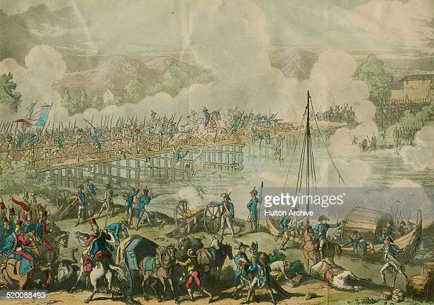 Napoleon Bonaparte and the French Army of the Republic defeats the Austrian army led by Karl Philipp Sebottendorf at the crossing and Battle of Lodi...