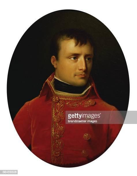 Napoleon Bonaparte as First Consul of France By Anne Louis Girodet de RoussyTrioson Schloss Arenenberg Switzerland [Napoleon Bonaparte als Erster...