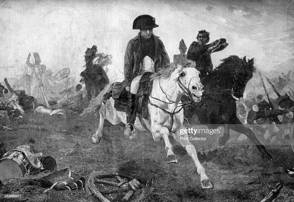 Waterloo War Napoleon I Emperor of the French France King of Italy ...