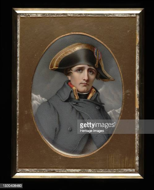 Napoleon Bonaparte, circa 1850. Artist Henry Brintnell Bounetheau.