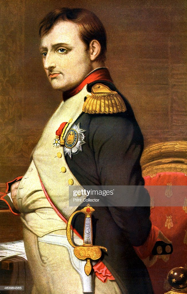 Napoleon Bonaparte, French general and Emperor.Artist: Paul Delaroche : News Photo