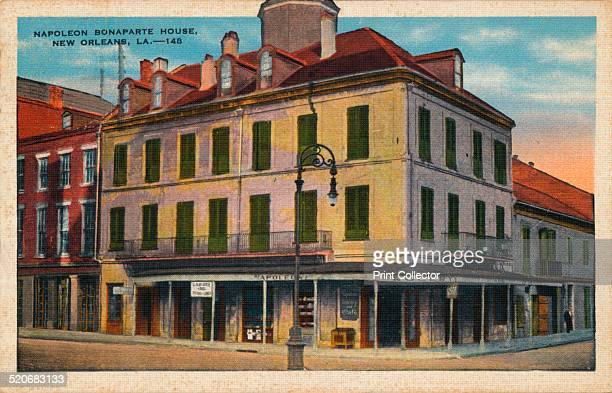 Napoleon Bonaparte House New Orleans 1935 The Napoleon House is a famous building in the French Quarter of New Orleans Louisiana Its name derives...