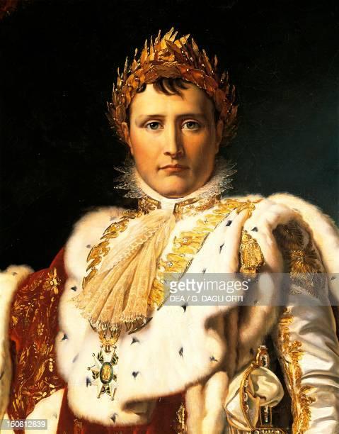Napoleon Bonaparte in Emperor's rodes ca 1805 by Francois Baron Gerard oil on canvas Napoleonic era France 19th century