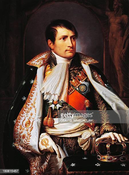 Napoleon Bonaparte King of Italy ca 1805 by Andrea Appiani oil on canvas 100x75 cm Napoleonic era France 19th century