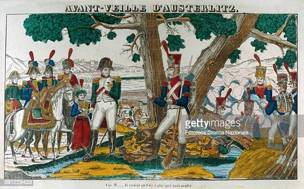 Napoleon Bonaparte on the eve of the Battle of Austerlitz December 2nd observed the enemy camp He ordered his forces so that opponents AustroRussians...