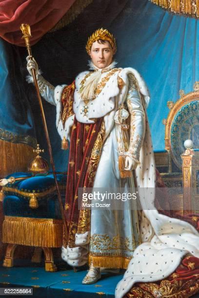 Napoleon Bonaparte portrait by baron Francois Gerard