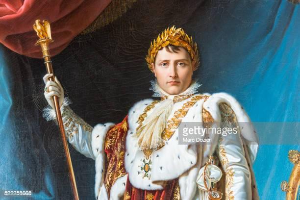 napoleon bonaparte portrait by baron francois gerard - napoleone foto e immagini stock
