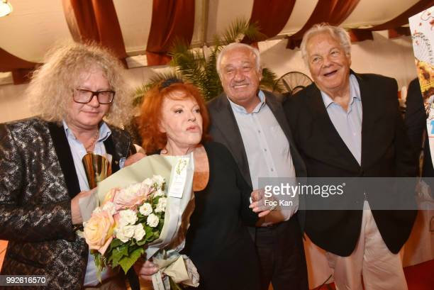Napoleon Bonaparte Specialist/collector PierreJean Chalencon La Femme dans Le Grand Siecle 2018 awarded Regine La foire du Trone CEO Marcel Campion...