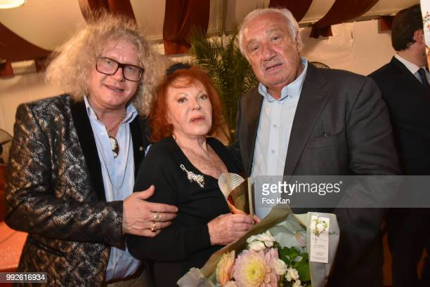 Napoleon Bonaparte specialist/collector PierreJean Chalencon La Femme dans Le Grand Siecle 2018 awarded Regine Choukroun and La foire du Trone CEO...
