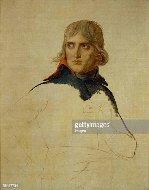 Napoleon Bonaparte Study 1797 98 Oil on canvas 81 x 65 cm RF 194218 [Napoleon Bonaparte Studie Gemaelde 179798]