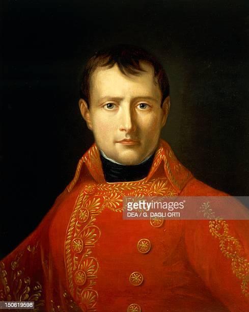 Napoleon Bonaparte's portrait First Consul and French Emperor Napoleonic era France 19th century