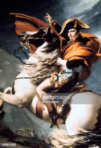 'Napoleon Crossing the Alps' detail c1800