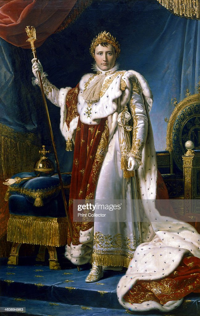 'Napoleon I Emperor of France', 1804. Artist: Francois Pascal Simon Gerard : News Photo