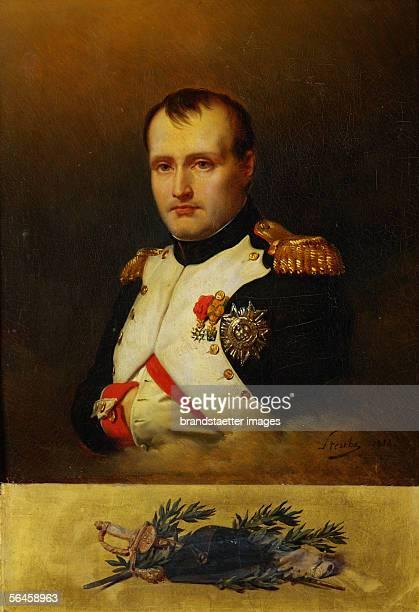 Napoleon I of France Canvas portrait artist unknown