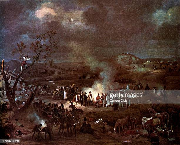 Napoleon I 's camp on the eve of the Battle of Austerlitz 1805