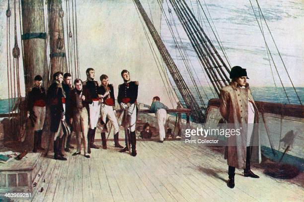 'Napoleon on Board the Bellerophon' In 1815 Napoleon Bonaparte surrendered to a British naval officer Captain Maitland of the HMS 'Bellerophon' and...