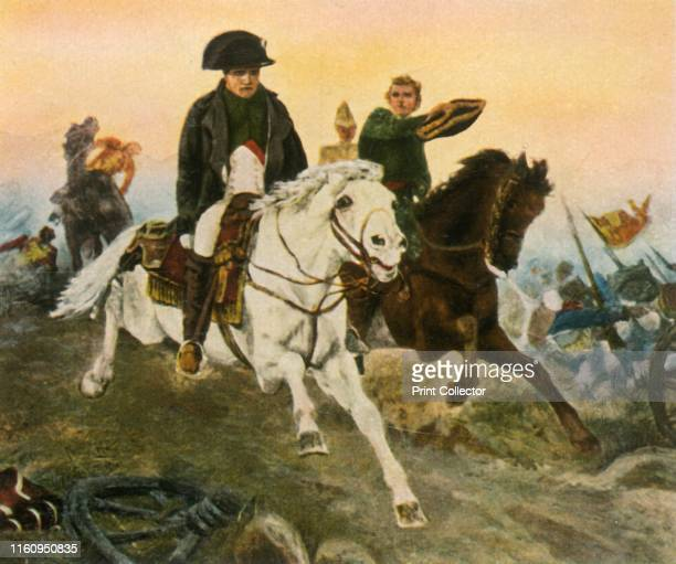 Napoleon on the retreat from Waterloo, 18 June 1815, . 'Napoleon Auf Der Flucht Bei Waterloo, 18 Juni 1815'. The Battle of Waterloo , in which French...