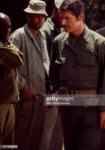 Napoleon Whiting Stephen Boyd appearing on the Walt Disney Television via Getty Images tv movie 'Carter's Army' January 27 1970
