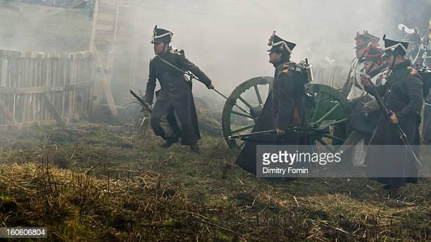 Napoleonic war carabineer, reenachment, Re-enactor, Borodino, Waterloo