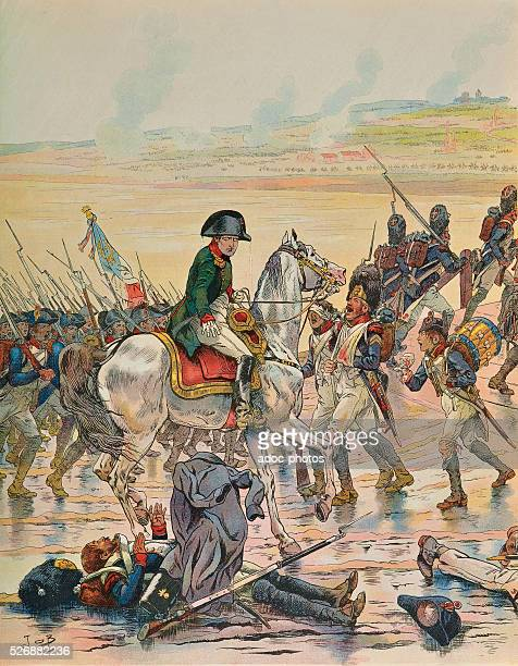Napoleonic Wars War of the Third Coalition Battle of Elchingen Napoleon comforts an old grenadier of the Egypt army giving him his coat On October 14...