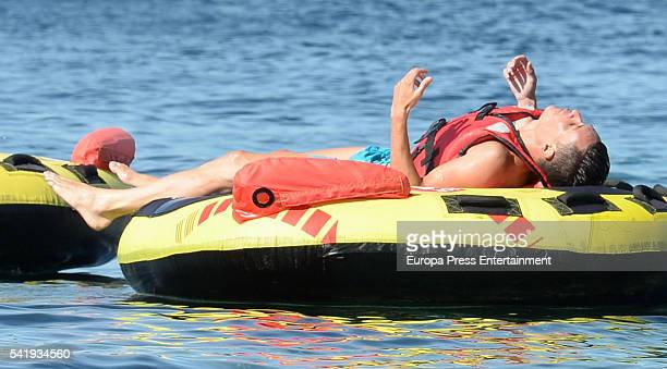 Napoli football player Jose Callejon is seen on June 20 2016 in Ibiza Spain