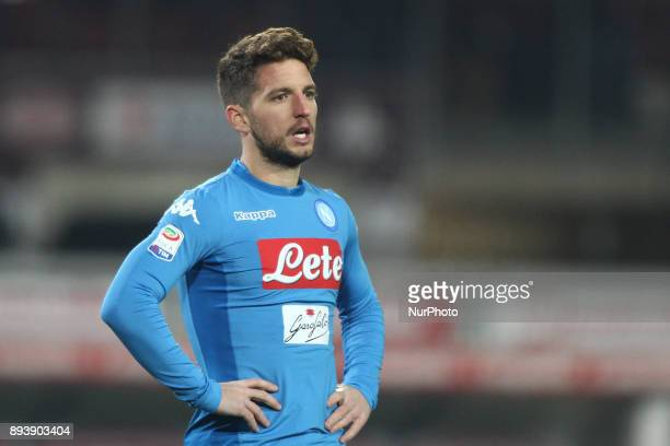 Napoli forward Dries Mertens during the Serie A football match n17 TORINO NAPOLI on at the Stadio Olimpico Grande Torino in Turin Italy