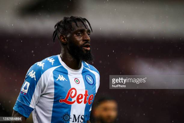 Napoli midfielder Tiemoue Bakayoko looks on during the Serie A football match n.33 TORINO - NAPOLI on April 26, 2021 at the Stadio Olimpico Grande...