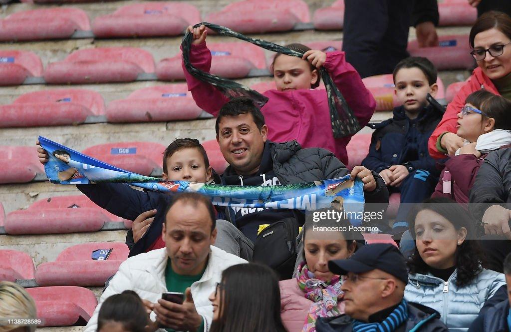 ITA: SSC Napoli v Atalanta BC - Serie A