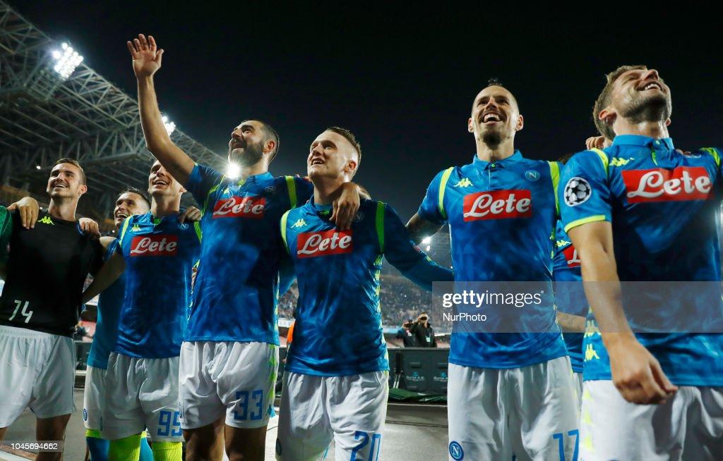 SSC Napoli v FC Liverpool - UEFA Champions League Group C : News Photo